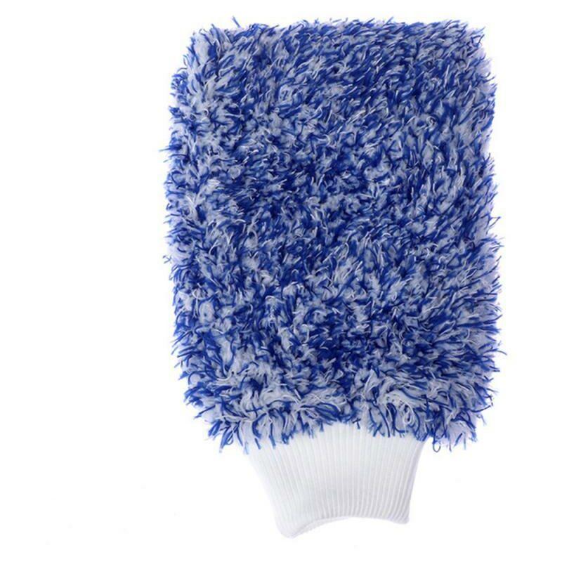 Betterlife - Paire de gants de lavage de voitures en microfibre, de gants de lavage anti-tourbillonnants et anti-rayures pour les soins de voitures
