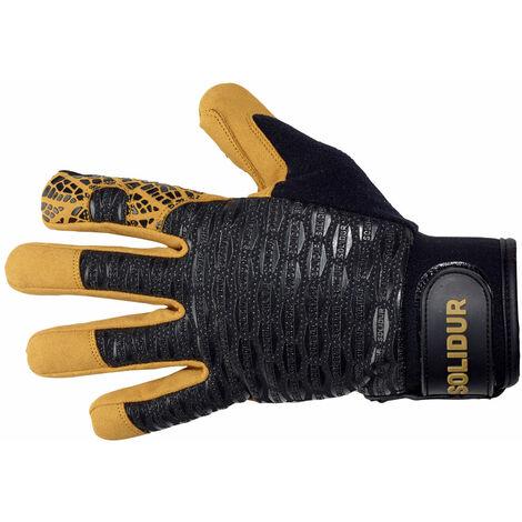 Paire de gants de travail tous travaux extérieur Solidur GA08