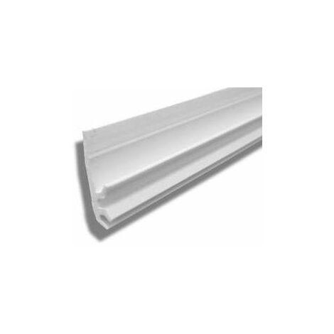 Paire de joints verticaux pour panneaux de douche