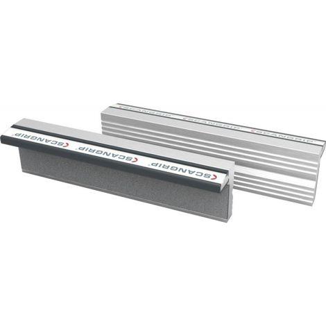 Paire de mordaches magnétiques N 120mm SCANGRIP 1 PCS