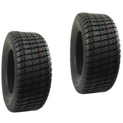 Paire de pneus 4 Plis 11 x 400- 5 pour autoportée