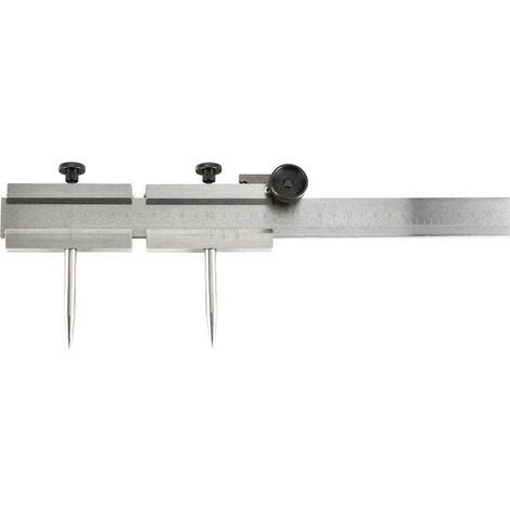 Paire de pointes pour compas à verge 500/1000/2000mm FORMAT 1 PCS