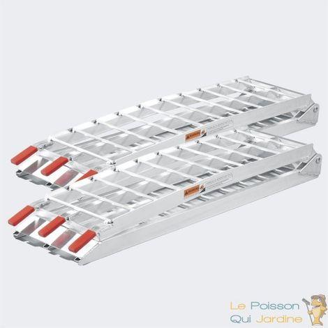 Paire de Rampes De Chargement Pliables - Quad- Voiture-226 cm 1360Kg