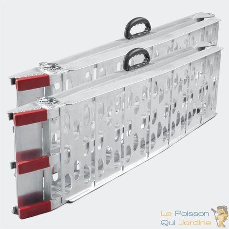 Paire De Rampes De Chargement Pliables Quad- Voiture. 226 cm 680 kg