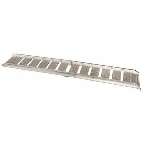 Paire de rampes pliable en aluminium - Mottez