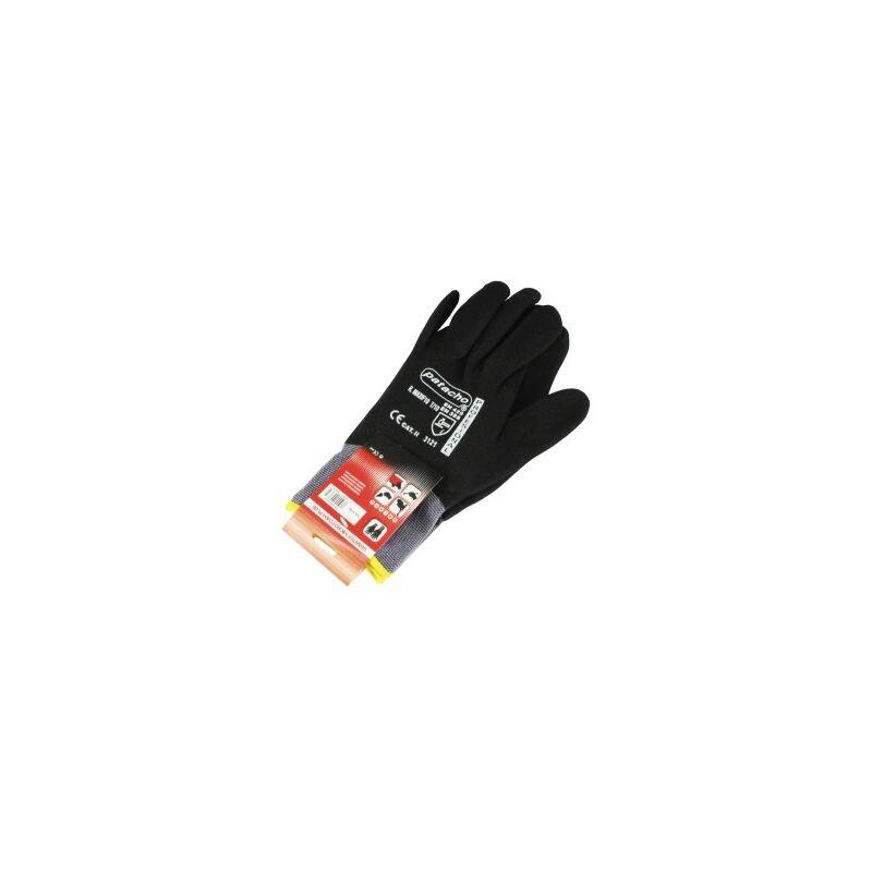 Paire gant en nylon noir foan maxi f10 t/10