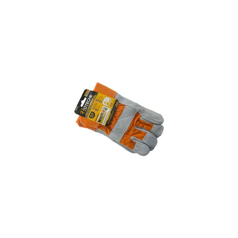 Paire gant toile serrage t-10 industriel
