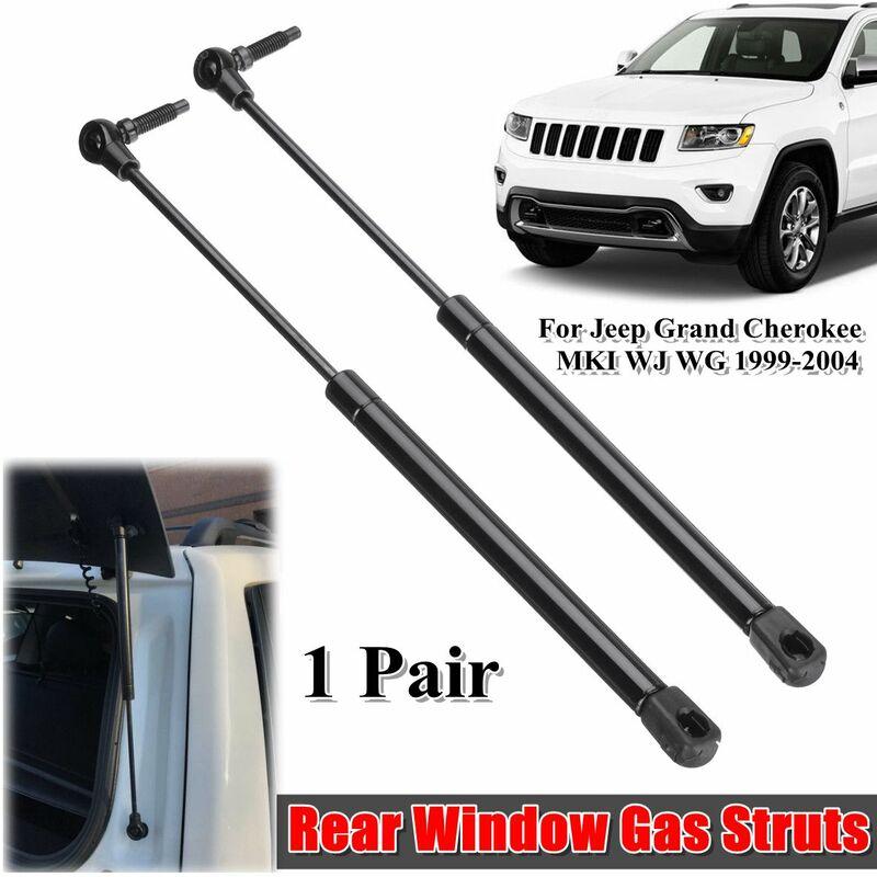 Tiga - Paire pour Jeep Grand Cherokee WJ WG 1999-2004 vitre arrière coffre en verre vérins à gaz Support de levage