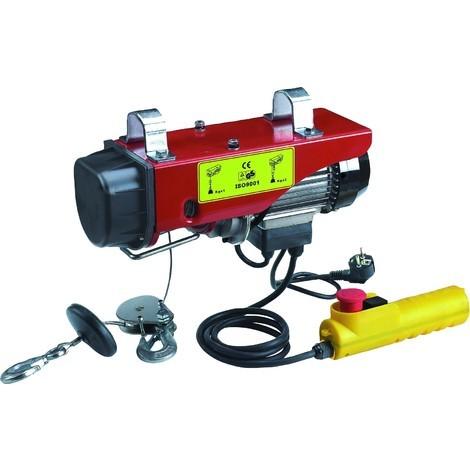 PALAN À CÂBLE ELECTRIQUE 200/400 KG -DRAKKAR EQUIPEMENT S10802