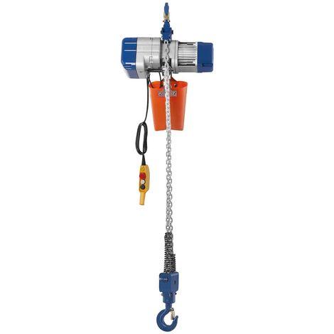 Palan A Chaine Electrique Treuil Levage 2000 Kg 400 V Telecommande 6 M 2 Tonnes
