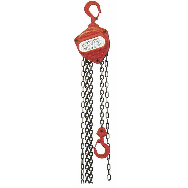 Palan à chaînes 1 t HNSJ1060 - Mw-tools
