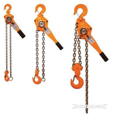 Palan a Chaine a Levier Treuil Manuel 500 kg
