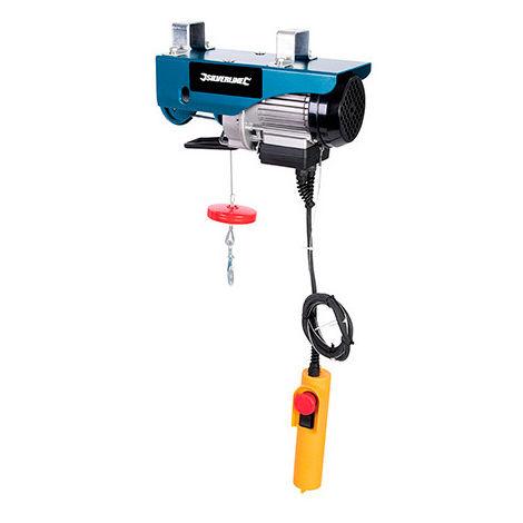 Palan électrique 250 kg 500 W 230 V - 943470 - Silverline - -