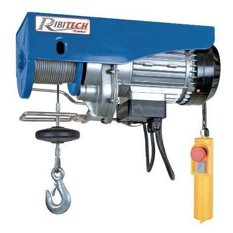 Palan électrique Ribimex PE100 / 200PT pour le levage de charges
