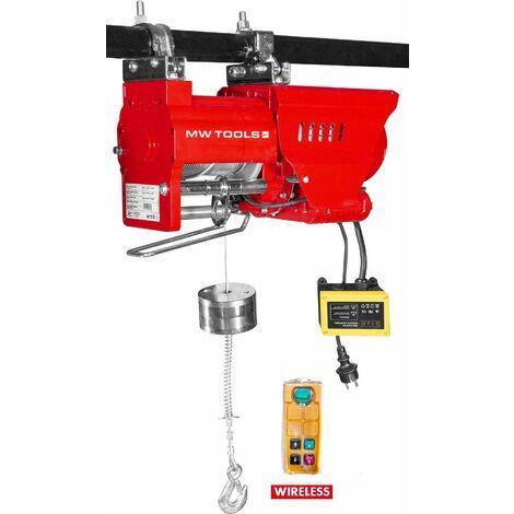 Palan électrique SANS FIL rapide 300/600 kg MW-Tools SL30040-R