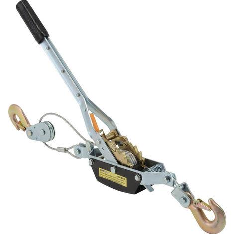 Palan-tendeur de traction à câble - 2 t de force de traction