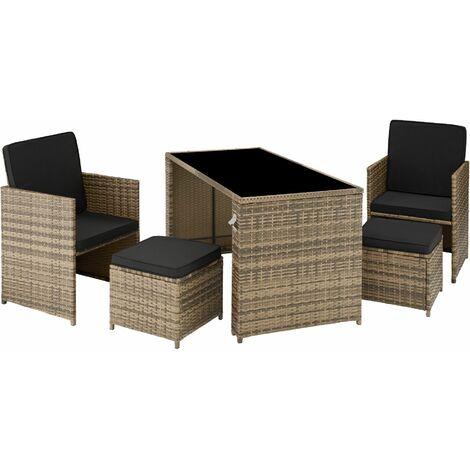 Palermo Rattan Seating Set - lounge, lounge set, rattan seating set