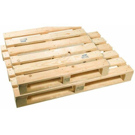 Palette bois export 800 x 1200 x 144mm - PILE DE 13 PALETTES