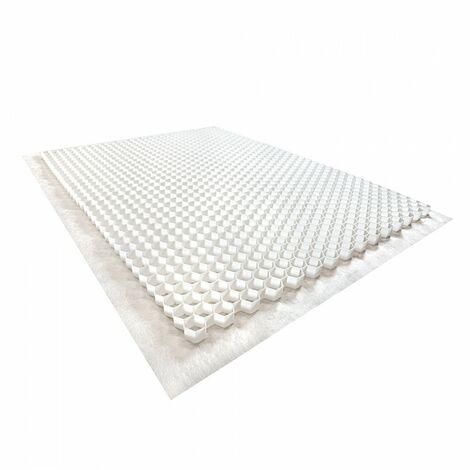 Palette de 24 Stabilisateurs de graviers (46,08 m²) - Blanc - 120 X 160 X 4 cm Blanc - Rinno Gravel