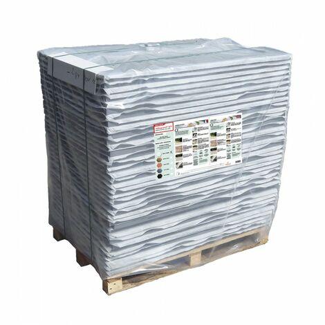 Palette de 35 m² - Stabilisateur de gravier 1200 x 800 mm - Nidaplast - Gris