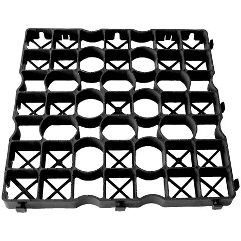 Palette de 60 m² de dalle IGO 40 noir Nidaplast