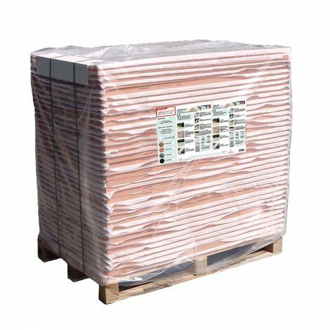 Palette de 71 m² - Stabilisateur de gravier 1200 x 800 mm - Nidaplast - Rose
