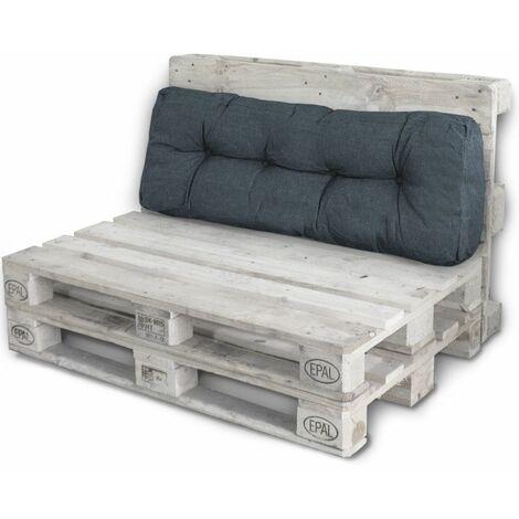 Rückenlehne Kissen.Palettenkissen Palettenauflagen Sitzkissen Rückenlehne Kissen Palette Polster Sofa Couch Dunkelgrau Rückenteil
