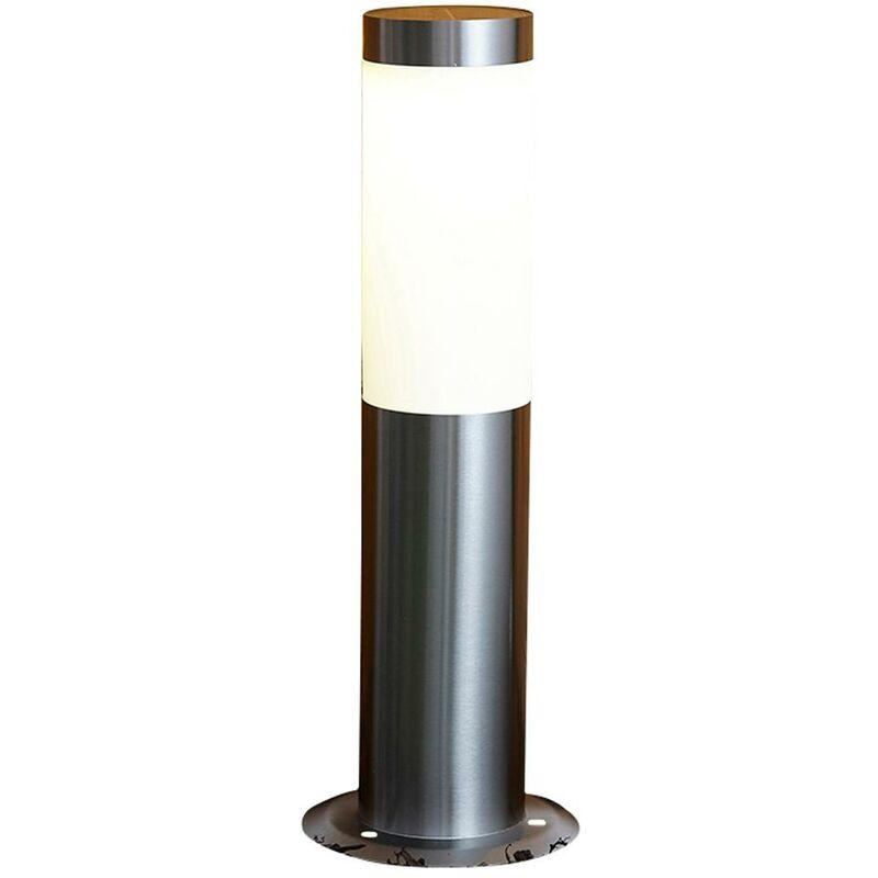 Paletto a LED Allende a Energia Solare -Ideale per Esterno - Acciaio Inox - Biard