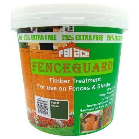 PALFENCE91-20 - Palace FenceGuard Forest Green 5L