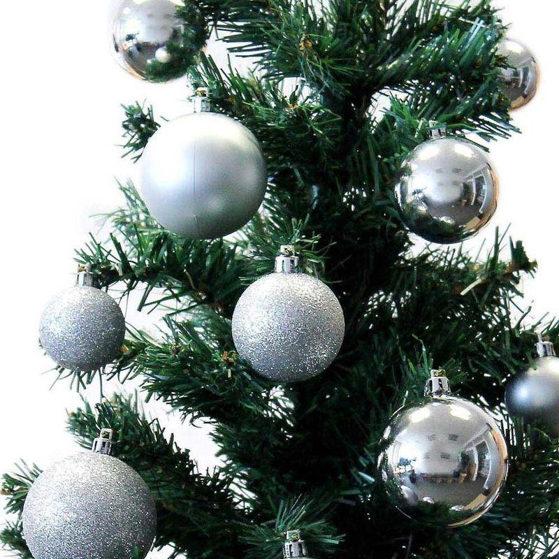 Palle Di Natale 70 Palline Color Oro Diverse Misure Decorazioni Albero Natale