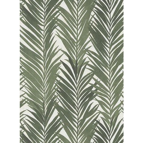 Palm Leaves Textured Vinyl Erismann