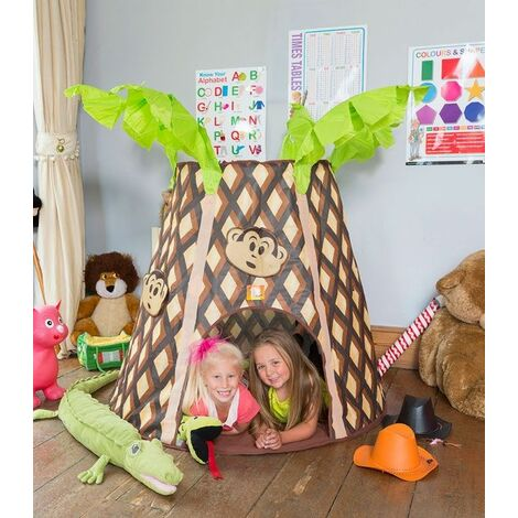 Palm tree Monkey Hut Play tent