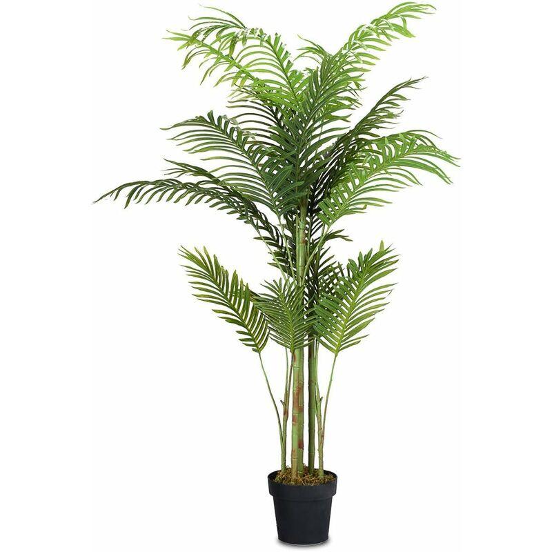 Palma Artificiale Pianta Artificiale Decarativa in Vaso da ...