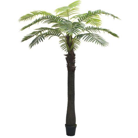 Palmera artificial con macetero 310 cm verde - Verde