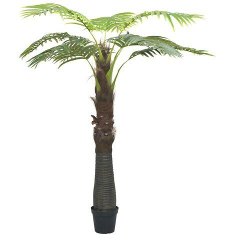 Palmier artificiel avec pot 240 cm Vert