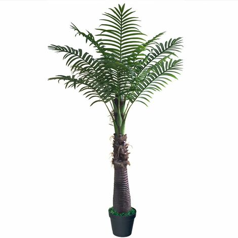 Palmier Cocotier Plante Arbre Artificiel Artificielle 250cm Decovego