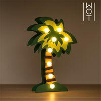 Palmier Décoratif en Bois Wagon Trend (8 LED)