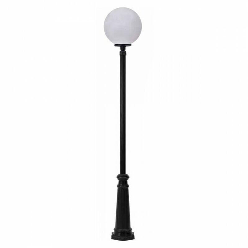 Lampione moderno lampadari bartalini d.0107 dp190 30 1 blk op db.0619 e27 led resina pmma lampada terra