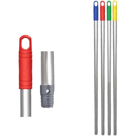 Palo de aluminio anodizado 1400 mm Seleccione el color deseado Rojo
