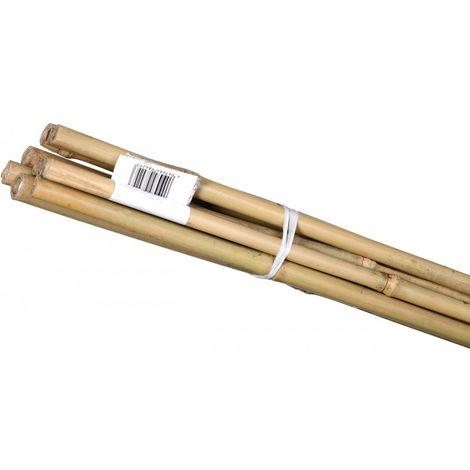 Palo de bambú 600x6-8 mm (10 unidades)