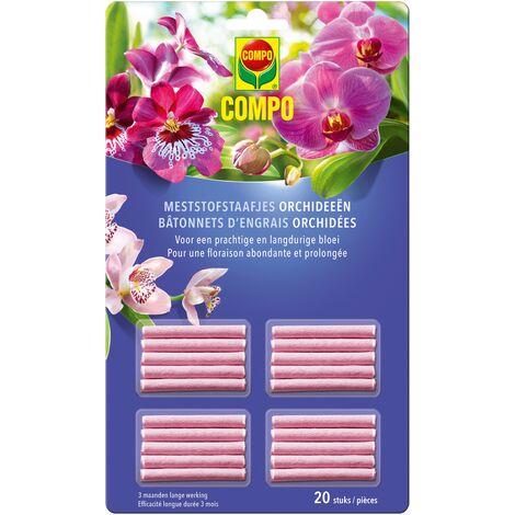 palos de fertilizante para orquídeas Compo 20 partes