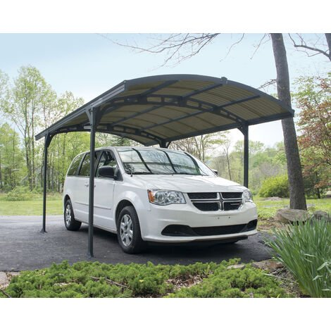 Palram Atlas Carport - Grey