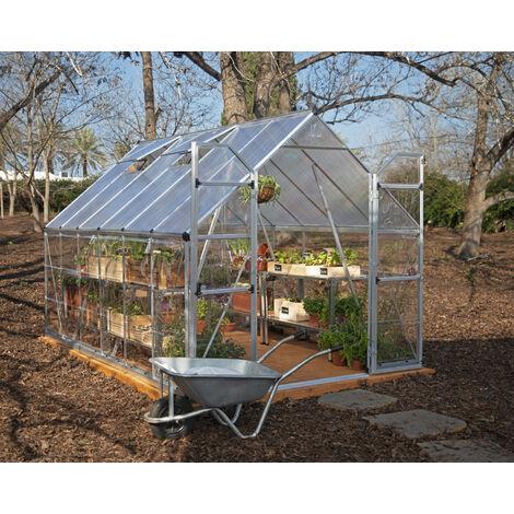 Palram Balance 8x12 Greenhouse - Silver