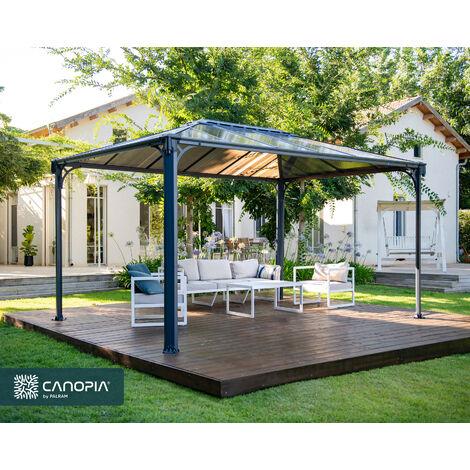 PALRAM MARTINIQUE 4300 Aluminium Gazebo Pavillon 430x295 cm