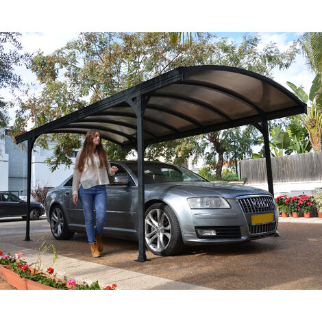Palram Vitoria 5000 Carport - Grey