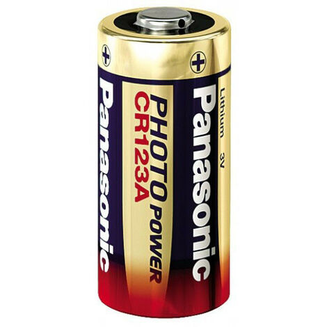 Panasonic 1 Photo CR 123 a Lithium - Battery - CR 123A/CR 17345 (CR-123AL/1BP)