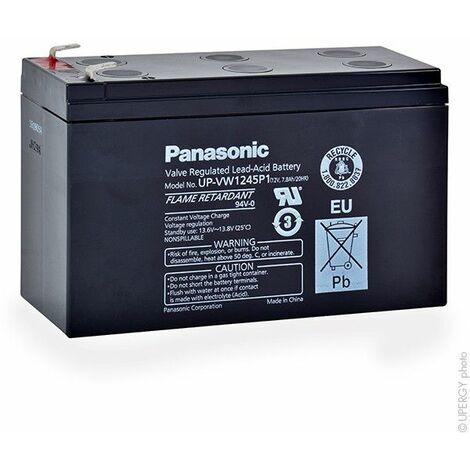 Panasonic - Batterie onduleur (UPS) PANASONIC UP-VW1245P1 FR 12V 8Ah F6.35