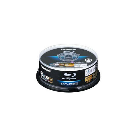 Panasonic BD-R BLU-RAY 6X 25Go PRINT. CAKE*25 (LM-BRS2MWE25)