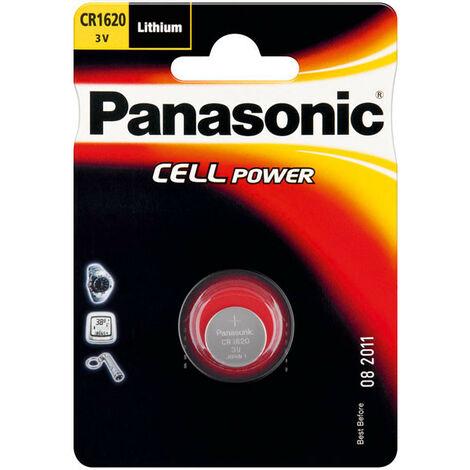 Panasonic CR 1620 - Single-use battery - Lithium - 3 V - 75 mAh - 16 mm - 16 mm