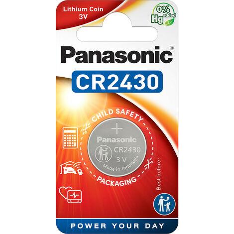 Panasonic CR 2430 - Single-use battery - Lithium - 3 V - 285 mAh - 24,5 mm - 24,5 mm (CR-2430EL/1B)